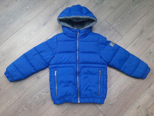 Zimowa Kurtka Niebieska Benetton 122 cm