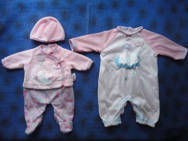 Одежда для куклы.Zapf creation Baby Annabell Беби Борн Человечки
