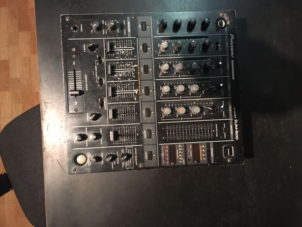 Mesa DJ - Pioneer DJM 500