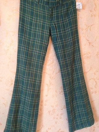 Женские штаны брюки (клетчатые) Split