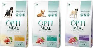 OPTI MEAL (Оптимил ) корм для собак в мешках 10 - 12 кг
