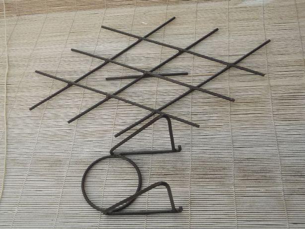 Kwietnik metalowy wiszący PRL