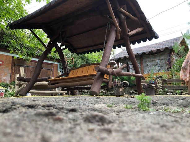Садова гойдалка/ Качеля садовая