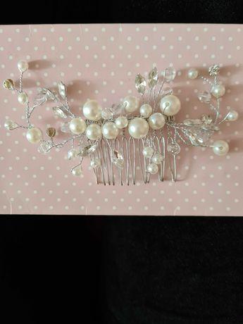 Заколка для свадебной причёски/ползунки/подушечка для колец