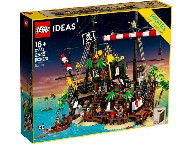 LEGO Ideas Пираты из залива Барракуды 21322