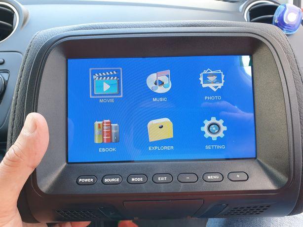 Televisão auto - Sistema de entretenimento carro