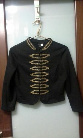 Пиджак,кофта,жакет гусарский H&M.