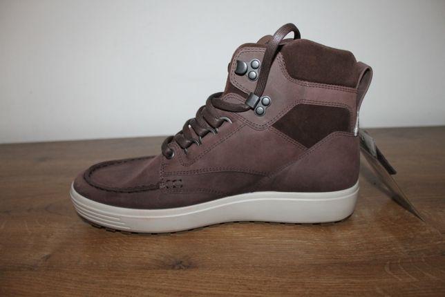 Кожаные ботинки Ecco Soft 7 Tred