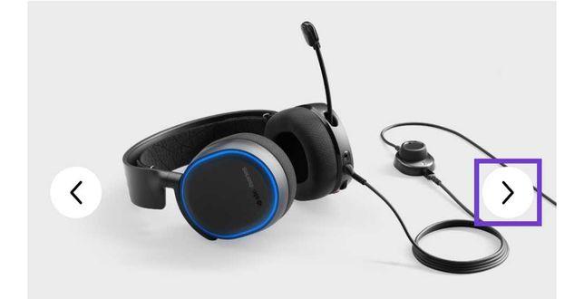 Headphones steelseries artic 5