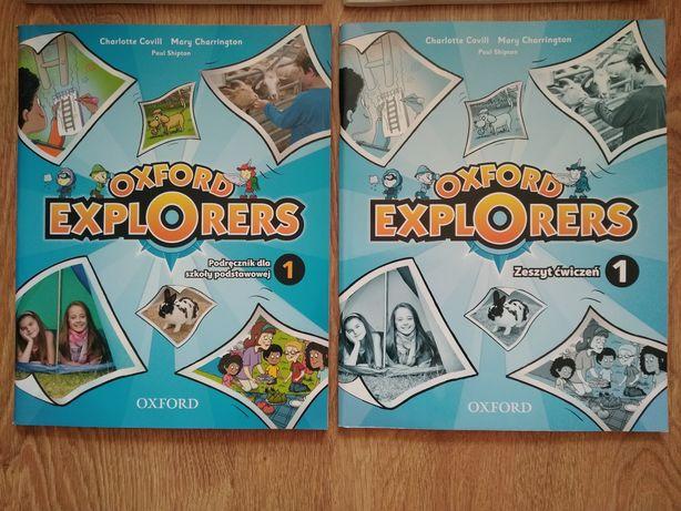 Oxford Explorers 1 podręcznik i ćwiczenie komplet płyta NOWE