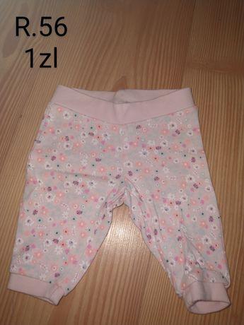 Ubrania dla dziewczynki 50/56