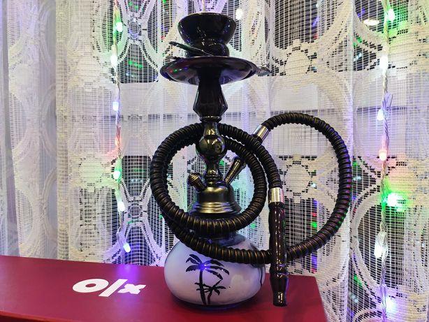 Кальян Gasik Hookah black высотой 30 см + пробник кокосовых углей