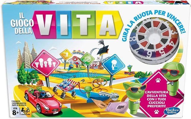 Gra planszowa Hasbro Gaming Gra w Życie j. niem. E4304