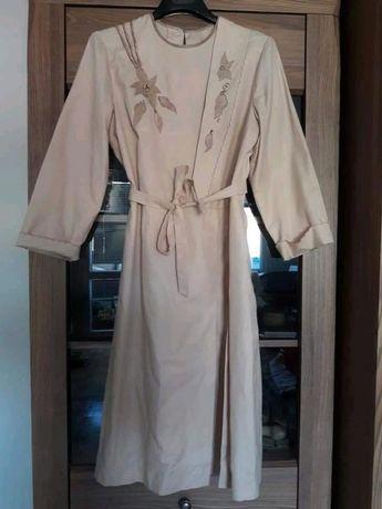 70s does 40s, vintage, sukienka, handmade, real vintage