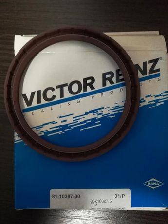 Сальник коленвала Mitsubishi Outlander I, Victor Reinz 81-10387-00