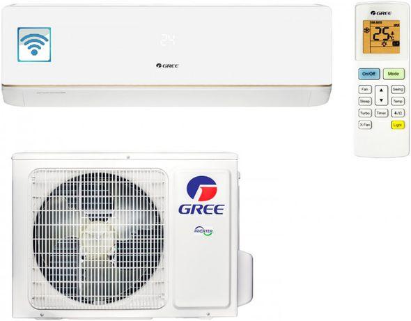 Скидка! Инверторный кондиционер GREE Bora Inverter 09ка Wi-Fi