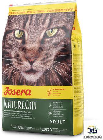 Josera NatureCat 10 kg-bezzbożowa