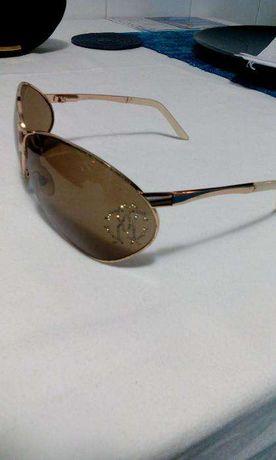 oculos de sol Roberto Cavalli lentes castanho ORIGINAIS