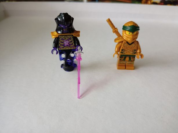 LEGO ninjago 71742 smok overlorda figurki nowe Lloyd golden