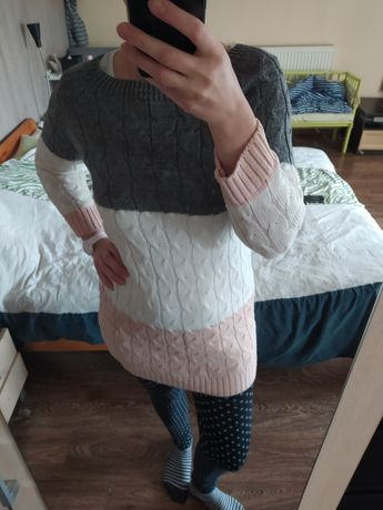 Śliczny sweterek M, ciąża