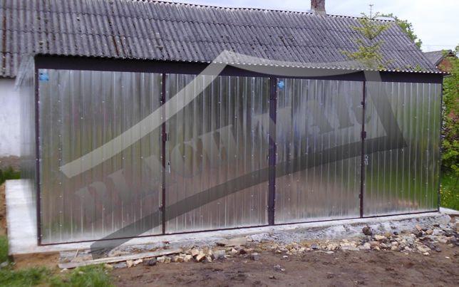 Garaż Blaszany Blaszak 6x5 Ocynk