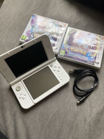 New nintendo 3Ds XL + 2gry