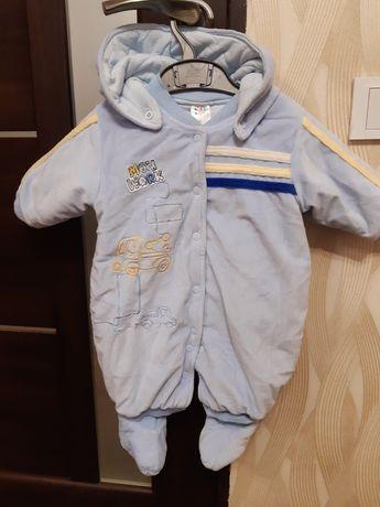 Продам детский демисезонный комбинезон на мальчика