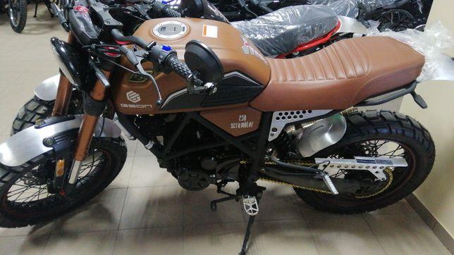 АКЦІЯ - Мотоцикл Geon, Scrambler 250 Геон, Lifan, Loncin,