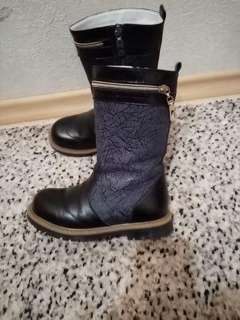 Ортопедичні чобітки зимові шкіряні /Сапоги кожаные зимние
