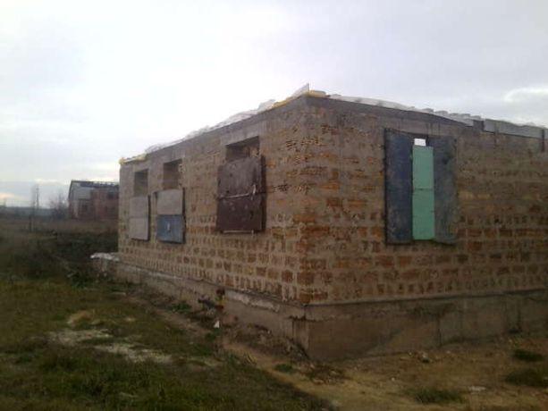 Земельный участок с домостроением