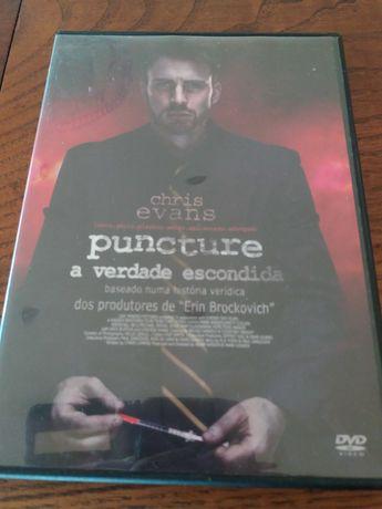 Filme DVD Puncture a Verdade escondida impecável