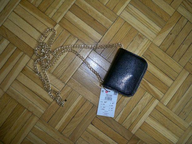 Mini torebka na łańcuszku NOWA