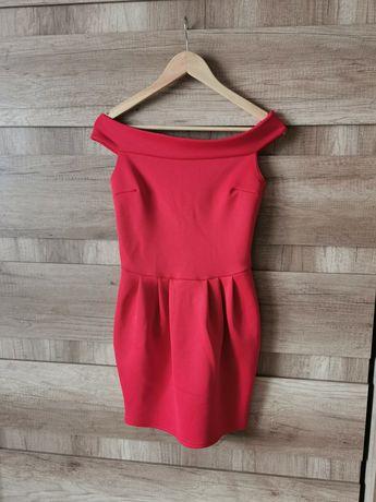 Sukienka czerwona hiszpanka