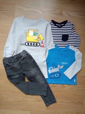 Комплект одежды бемби,next,h&m.Джинсы,реглан,свитшот