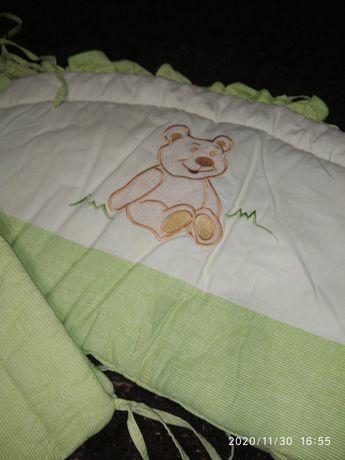 Продаю бортіки ( защита в кроватку, захист в ліжечко)