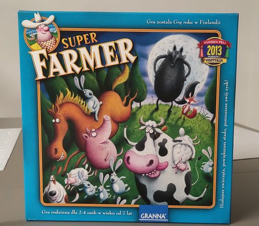 Gra planszowa Super Farmer stan idealny od Granna