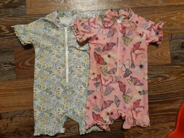 Купальники защитные костюмы Next бабочки цветы