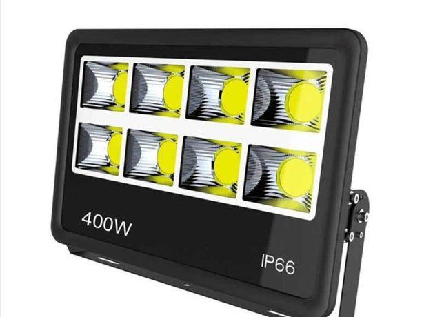Halogen LED 400W Naświetlacz Lampa Magazynowa Przemysłowa