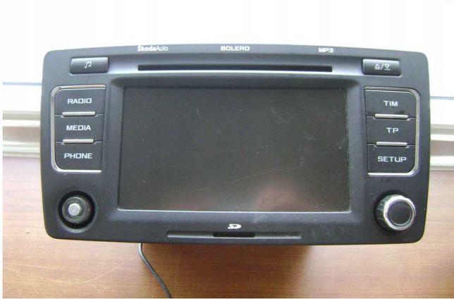 Skoda Octavia II BOLERO radioodtwarzacz CD MP3