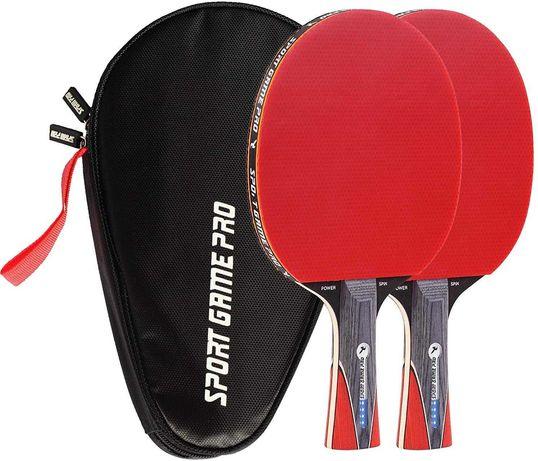 Ракетки для настольного тенниса 2шт + Чехол набор #теніс #тениса