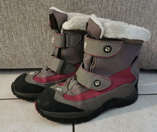 buty zimowe Jack Wolfskin r. 37 wkładka 23,5 cm