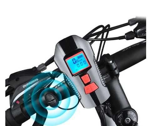 Latarka z licznikiem rowerowa, LED 580