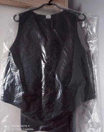 Zestaw dla dziecka czarna kamizelka + czarne spodnie