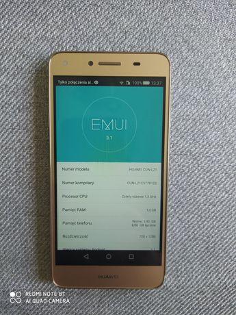 HUAWEI CUN -L21, Smartfon, Złoty, 4 rdzenie, 8GB