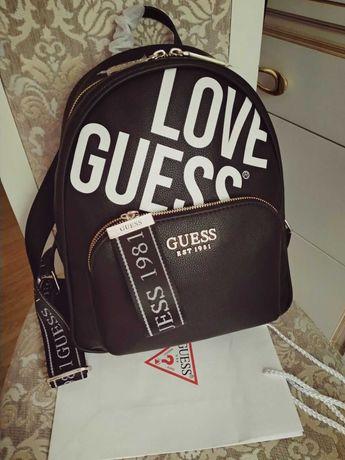 Моднейший женский прогулочный городской рюкзак guess Love , оригинал