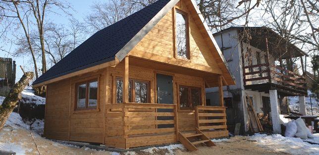 Domki letniskowe dom szkieletowy kanadyjski producent na działkę
