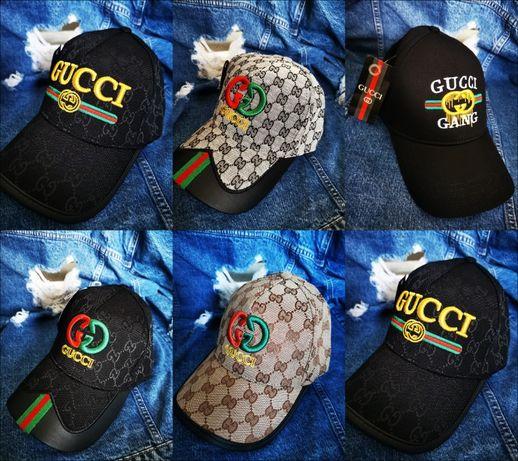 Czapka z daszkiem Gucci czapki nowość logowane lato