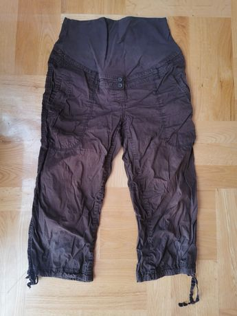 Spodnie bojówki 3/4 H&M Mama rozm. 38