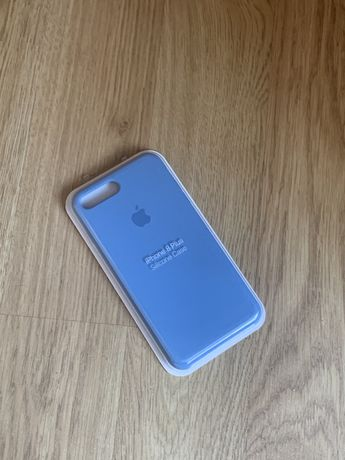 Apple etui case iphone 7 plus/8 plus niebieski