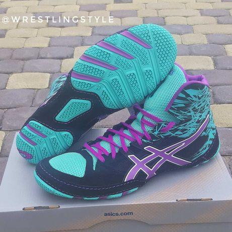 Боксерки, борцовки ASICS CAEL V7.0, обувь Асикс для бокса, борьбы!